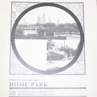 Home Park Project Area Report: Atlanta Olympic Ring Neighborhoods Survey (1993)