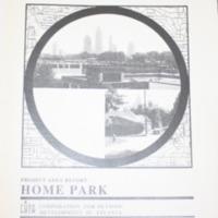 Home Park Project Area Report: Atlanta Olympic Ring Neighborhoods Survey (1993)