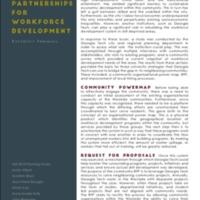 University-Community Partnerships for Workforce Development: Executive Summary (2015)