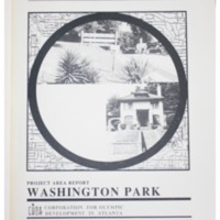 Washington Park Project Area Report: Atlanta Olympic Ring Neighborhoods Survey (1993)