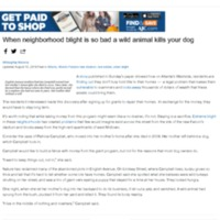 This Atlanta neighborhood was so blighted a wild animal ate her dog | The Watchdog blog.pdf
