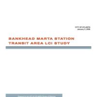 Bankhead Marta Station Transit Area LCI Study (2006)
