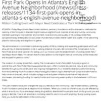 First Park Opens In Atlanta's English Avenue Neighborhood | The Conservation Fund.pdf