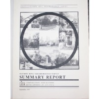 Olympic Ring Neighborhoods Survey Summary Report (1993)