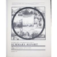 Olympic Ring Neighborhoods Survey Summary Report (1993)