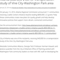 Atlanta awarded $40k for transportation study of Vine City-Washington Park area.pdf