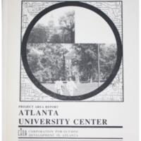 Atlanta University Center Project Area Report: Atlanta Olympic Ring Neighborhoods Survey (1993)