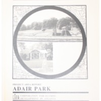 Adair Park Project Area Report: Atlanta Olympic Ring Neighborhoods Survey (1993)