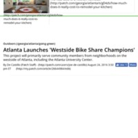 Atlanta Launches 'Westside Bike Share Champions' - Atlanta, GA Patch.pdf