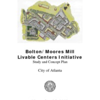 Bolton/Moores Mill Livable Centers Initiative Study and Concept Plan (2002)